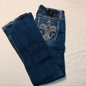 EUC Miss Me women's bootcut jeans size 30.